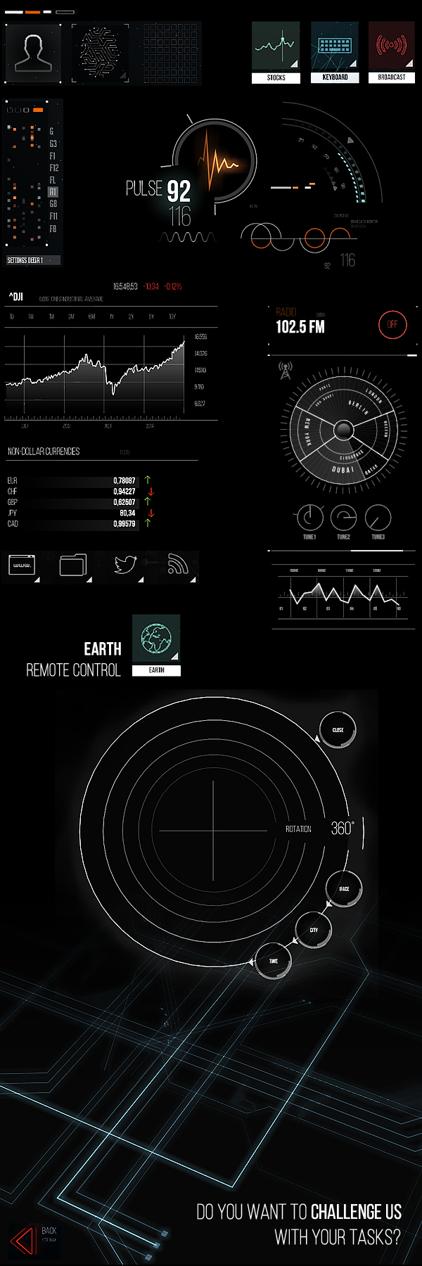futuristic ui elements future beyond ui design