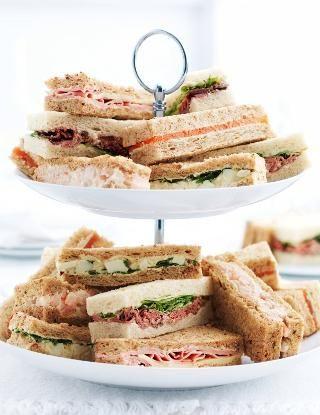 Afternoon Tea Sandwich Fingers (20 Sandwich Fingers) - Marks & Spencer