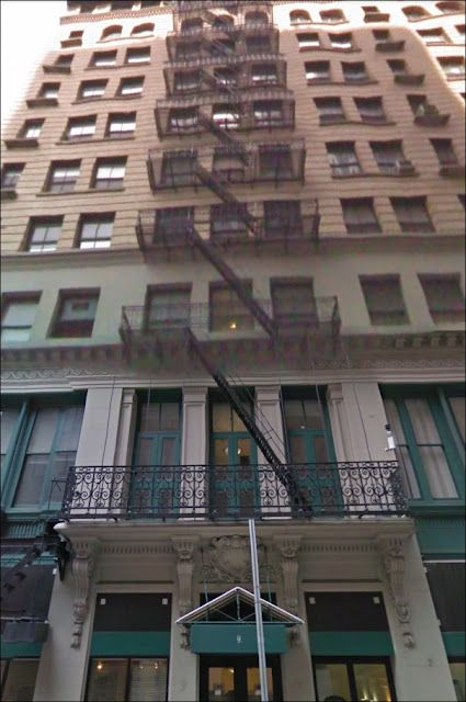 A window cleaner miraculously survived a 40-foot fall down an
