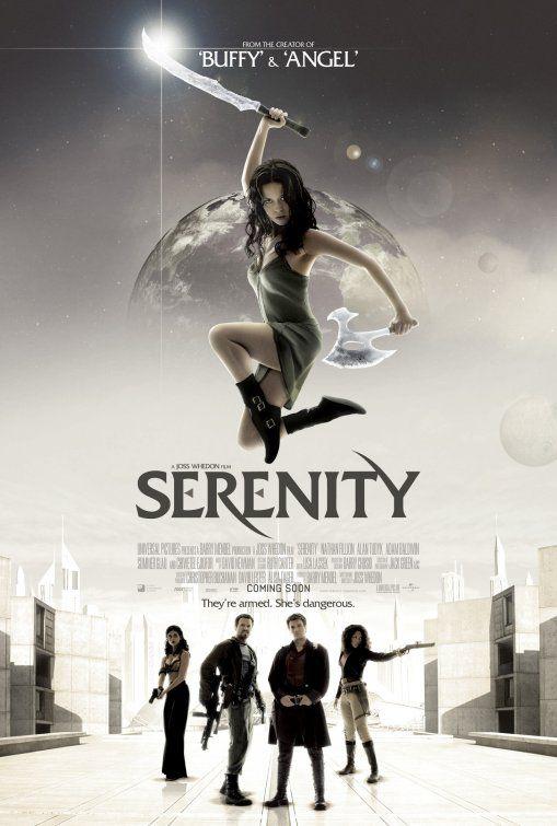 SERENITY • Mini-Sheet Movie Poster • SUMMER GLAU • NATHON FILLION • 2005
