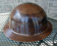 MSA Skullgard Hard Hat Miners Hat Full Brim | Vintage finds