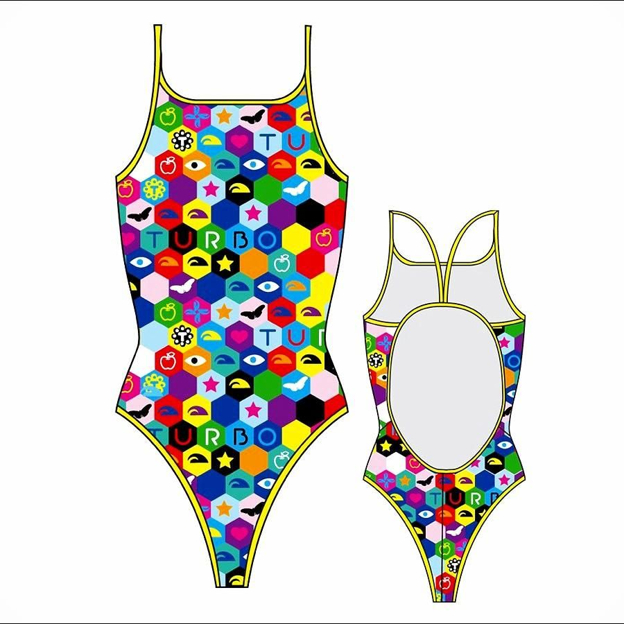 Costumi Piscina Turbo Costume Turbo Donna Nuoto Piscina Costuminuoto Allenamento