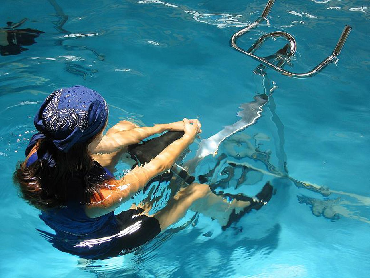 aquabiking - Aquabiking Paris Piscine Municipale
