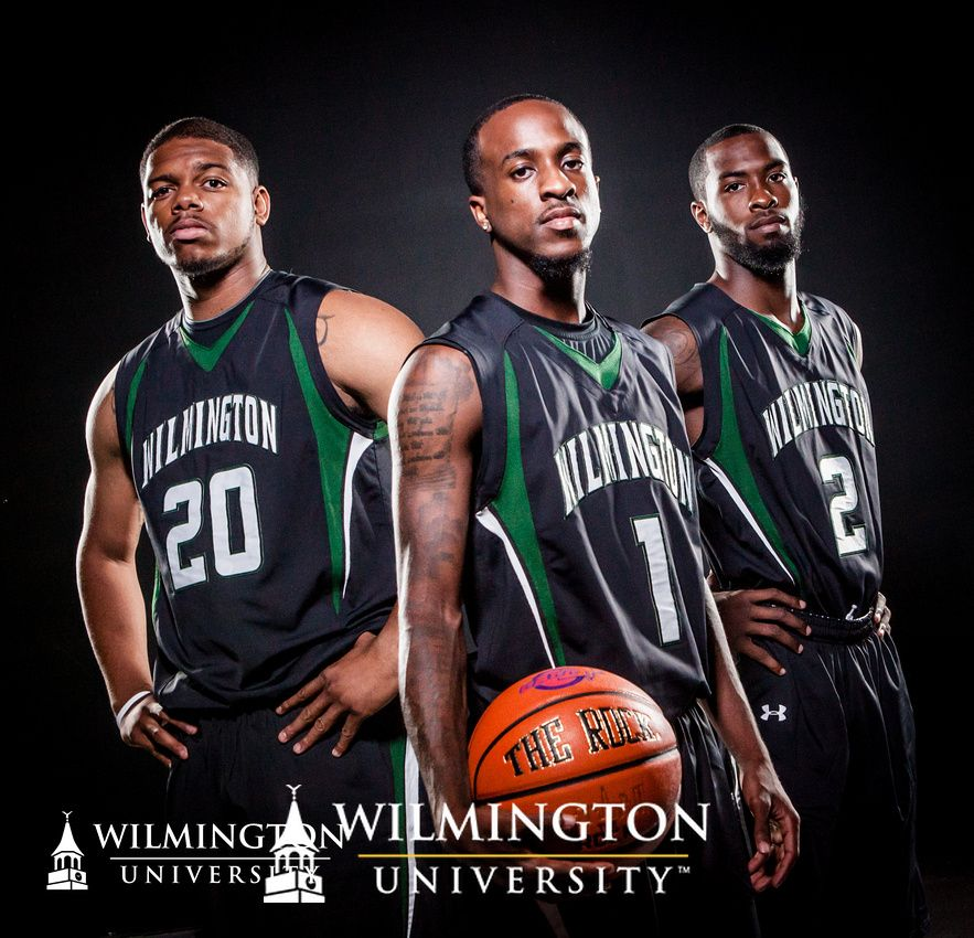 #WilmU Men's Basketball team