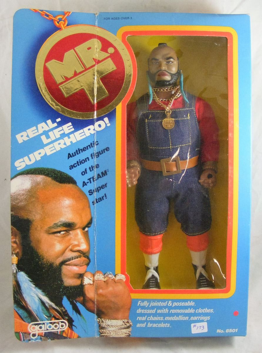 Image result for Mr. T Doll