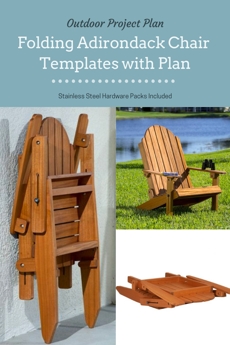 Folding Adirondack Chair Woodworking Plans In 2019