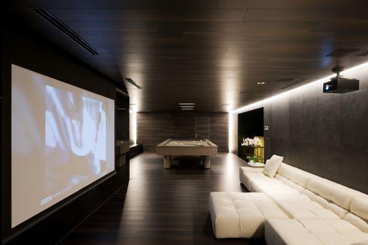 Salle home cinema