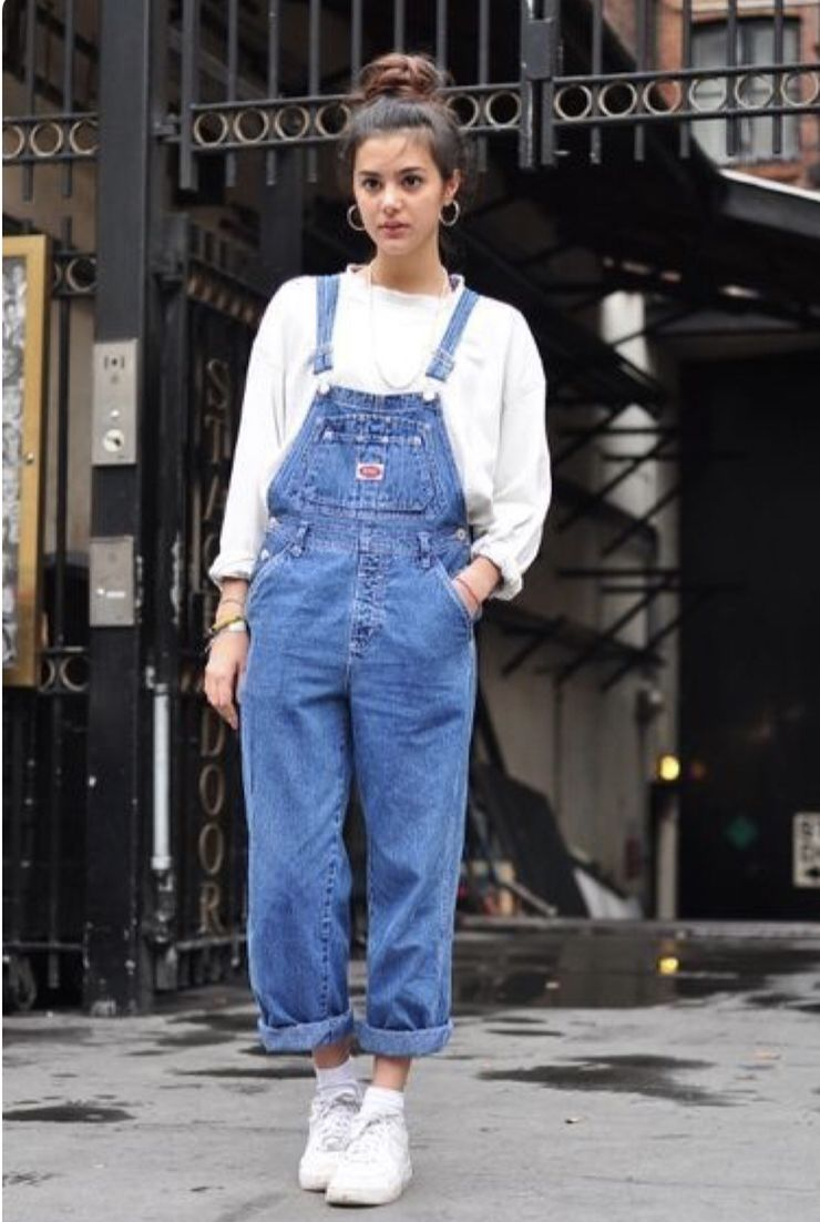 12a98f38ac7 Pin by Hailey on closet | Overalls outfit, Cool summer outfits, Fashion