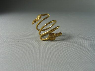 Finger Ring: Culture: Egypto-Roman Medium: Gold Place Collected ...