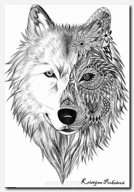 Tatoos Hot Tattoo Wolf Tattoos Wolf Tattoo Pretty Skull Tattoos
