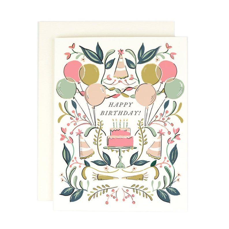 Cake Happy Birthday Card Etsy In 2021 Happy Birthday Cards Printable Birthday Card Drawing Birthday Greeting Cards