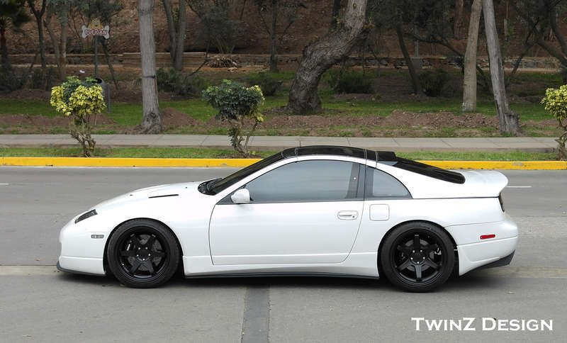 TwinZ Design Z32 Rear Spats (Mud Guards), Z1 Motorsports
