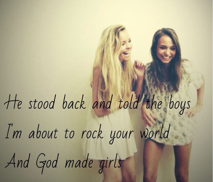 God Made Girls By Raelynn This Song Is Amazing So
