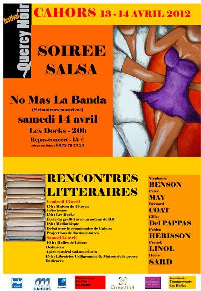 Festival Quercy noir, à Cahors (46000) / 13-14/04/2012