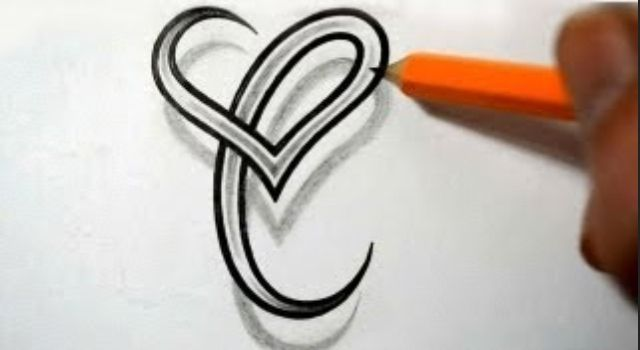 Letter C Tattoo For Cal And The Kids Letras Tatuajes Mejor
