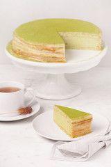 Green Tea Mille Crêpes