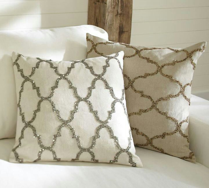Pottery Barn Pillow Bling Pottery Barn Pillows