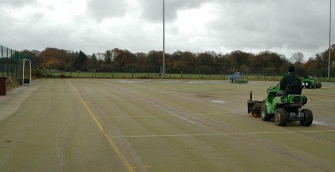 Hockey Surface Maintenance