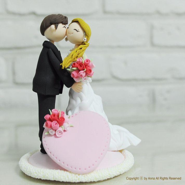 15 Favorite Handmade Wedding Cake Toppers Handmade wedding