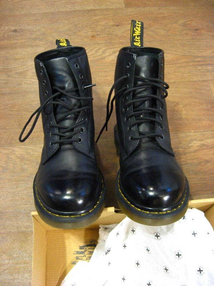 b1b5f737a16a Men s Dr. Martens Air Wair US Men Size 9 Black Boots Style 1460  fashion   clothing  shoes  accessories  mensshoes  boots (ebay link)