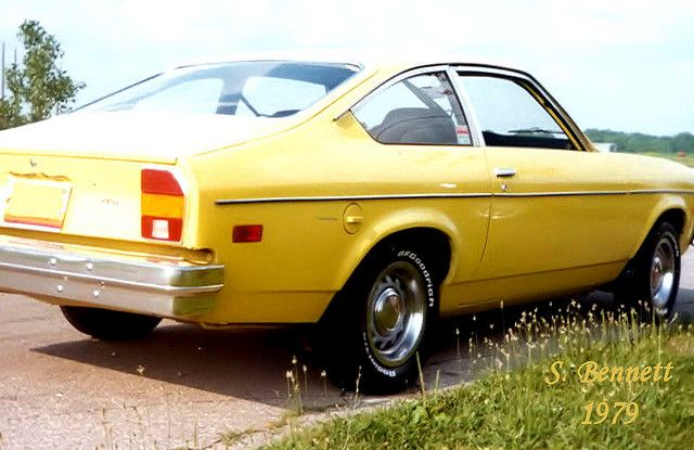 Yellow Chevy Vega My First Car Mine Too Until I Drove It Too