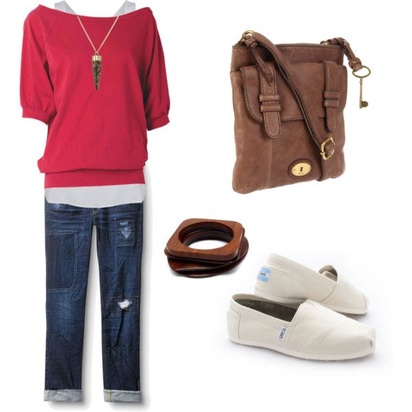 Coral Casual...comfy and inviting. Love the Fossil bag too:)