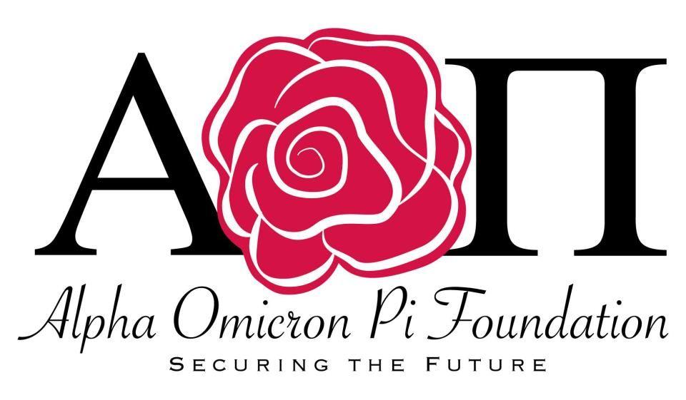 AOII foundation logo Alpha omicron pi, Foundation logo