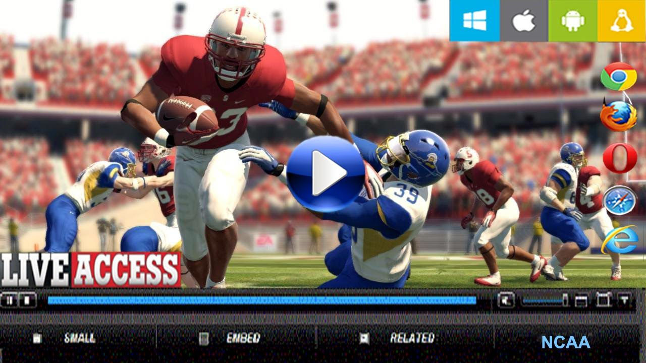 How to Access NcaaFB in USA to watch College Football 2015