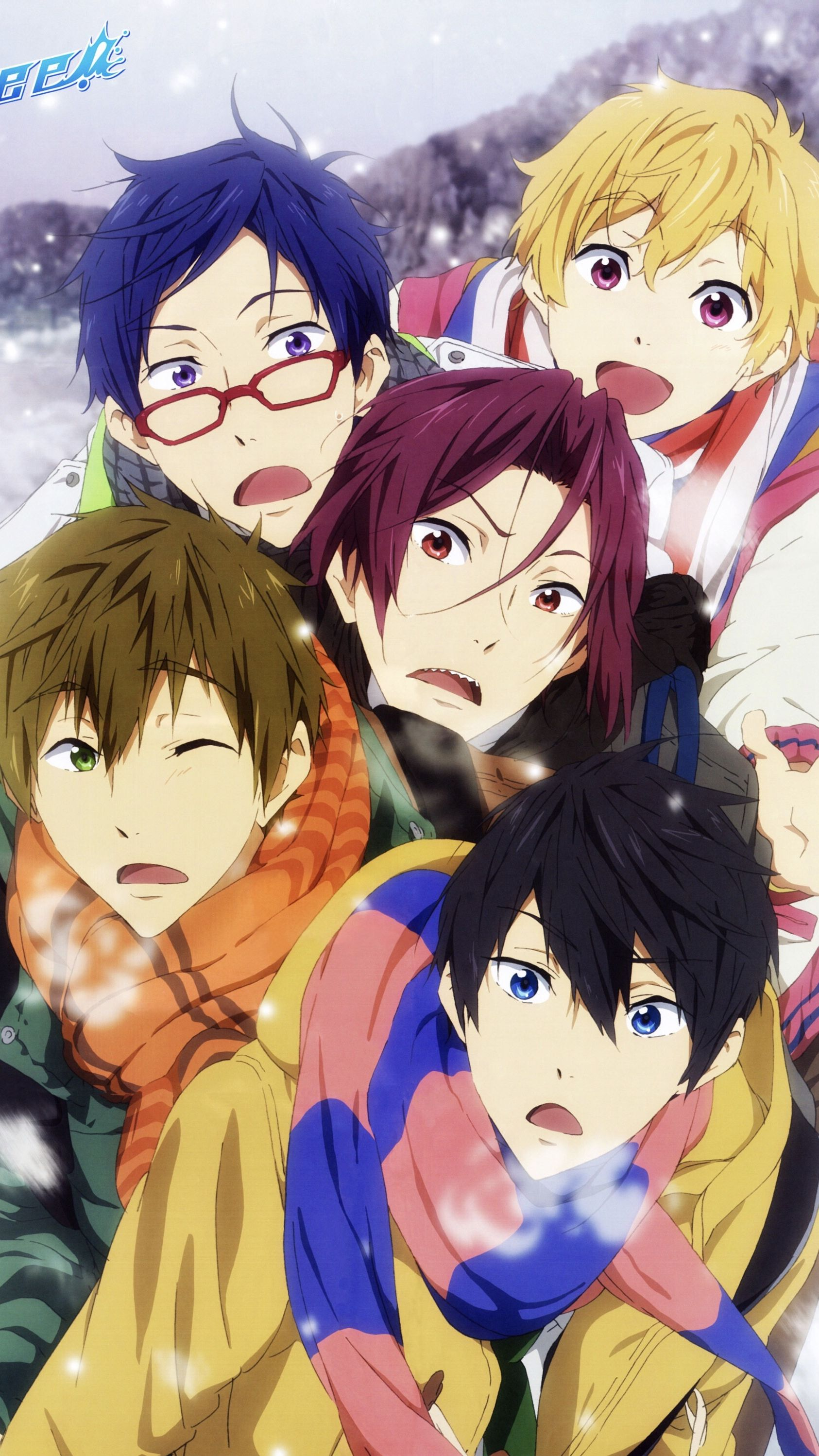 Check The Link In The Bio To Download Hd Wallpapers Of Free And More Pc Phone Anime Free Author Kōji ōju T In 2020 Free Anime Anime Iwatobi Swim Club