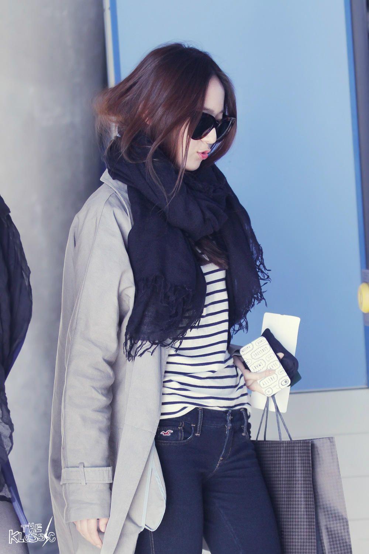 F X Krystal Kpop Airportfashion Kpop Airport Fashion Pinterest Airport Fashion Krystal