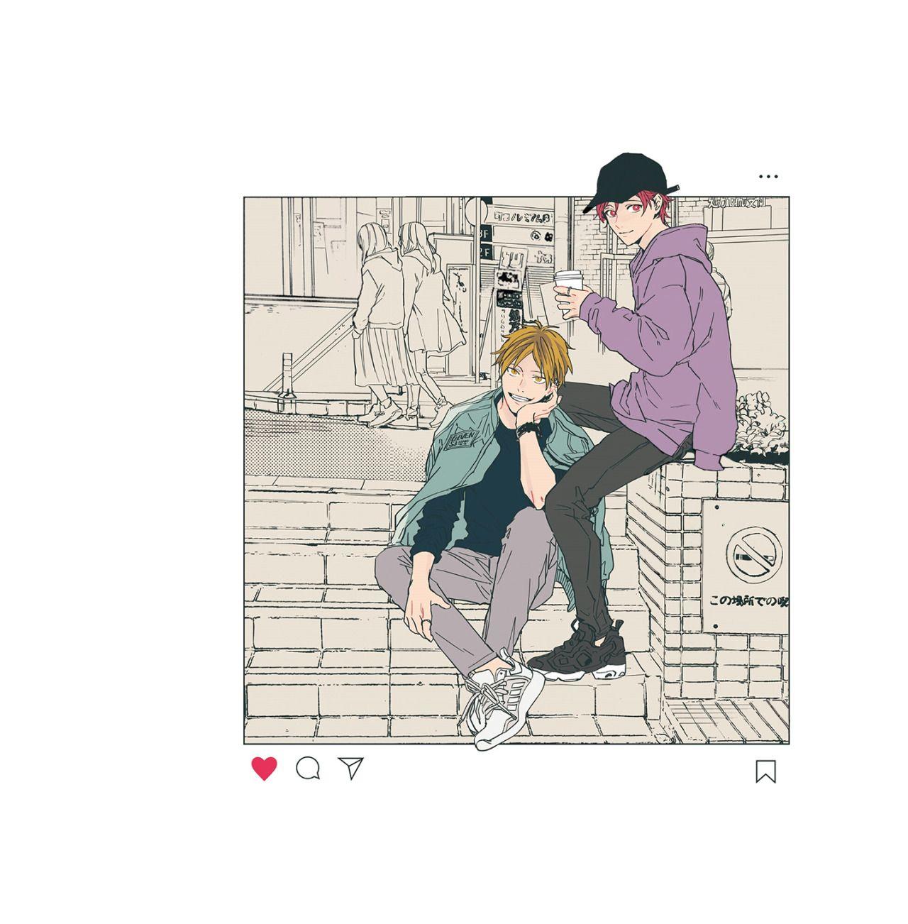 Given || Taken — givenplus: Given - Illustrations ⌜ Haruki ...