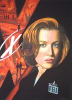 Scully by Horakso