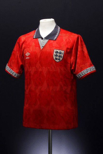 England Away Shirt 1990 93 Football Outfits Football Shirts England Football