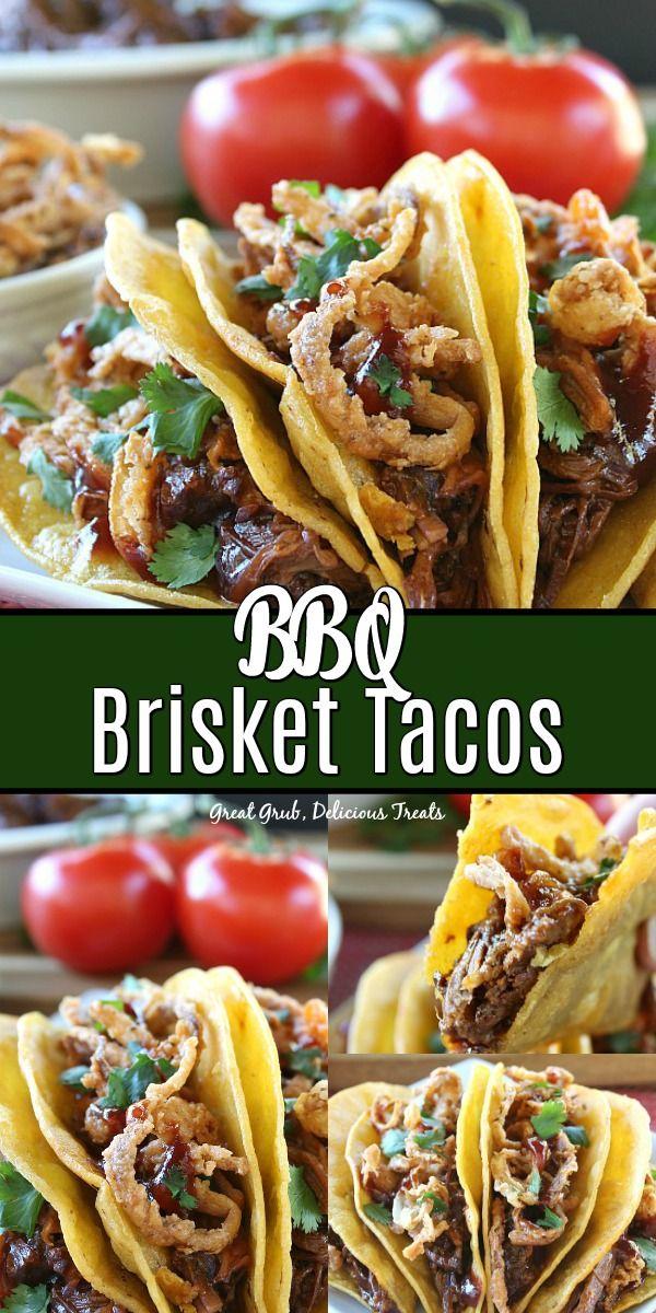BBQ Brisket Tacos #tacos
