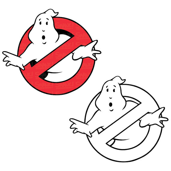 Ghostbusters Logo Clipart Svg Eps Png File Personal