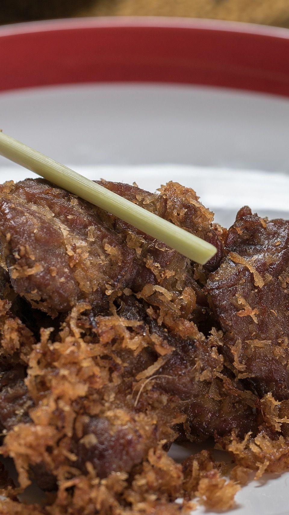 Resep Daging Serundeng : resep, daging, serundeng, Daging, Serundeng, Resep, Recipe, Indonesian, Food,, Drink