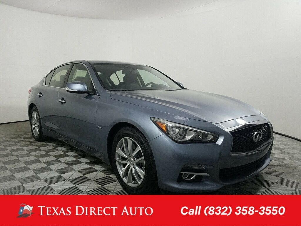 Used 2017 Infiniti Q50 3.0t Premium Texas Direct Auto 2017