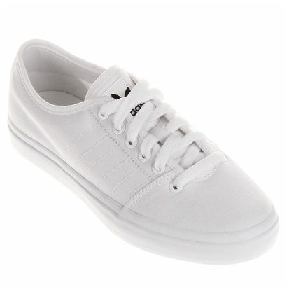 128f928eb3 Tênis Adidas Adria Lo - Branco Para usar no dia a dia! | fashion ...