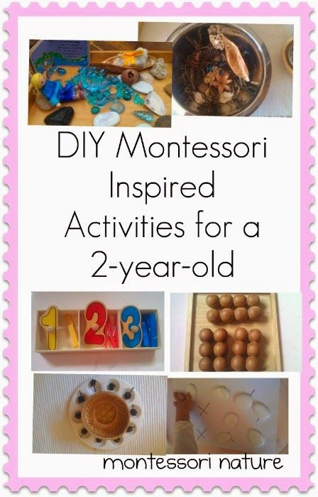 Diy Montessori Inspired Activities For A 2 Year Old Via
