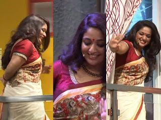 Kavya Madhavan Hot Photos In Saree From Badai Bungalow Including Actress Kavya Madhavan Hot Photo Gallery