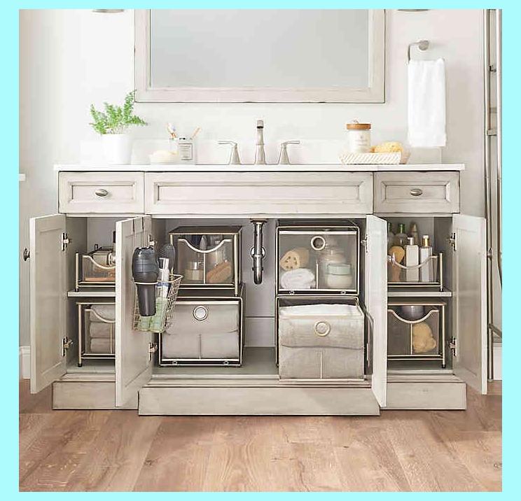 Pinterest In 2020 With Images Bathroom Cabinet Organization Bathroom Decor Diy Bathroom Storage