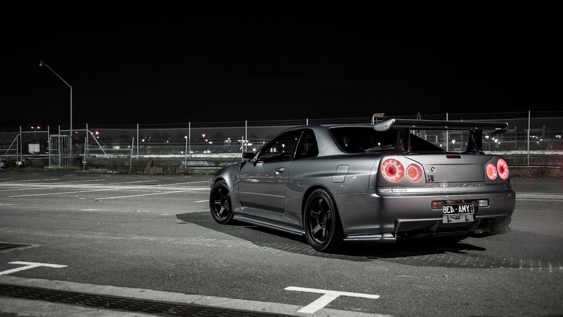 Nissan Skyline R HD Desktop Wallpaper : Widescreen : High