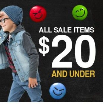 All Sale Items $20.00 and Under @ Charlie & Me Kids - Bargain Bro