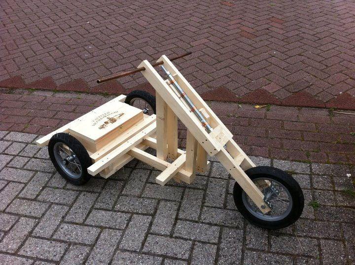 Zeepkist Trike Gemaakt Door Xander Ik Maak Dit
