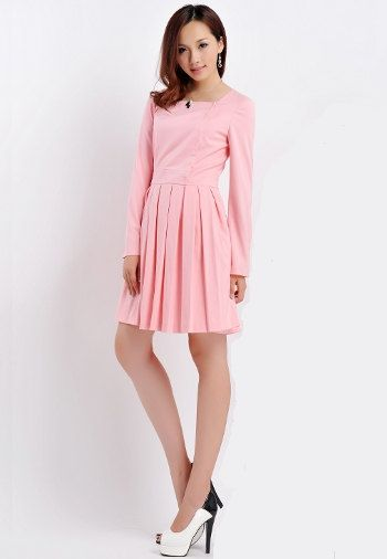 28e2fd8f6daa Pleated Dress/ Kate Middleton Inspired/ Pink/ Teal/ por Zepherra ...