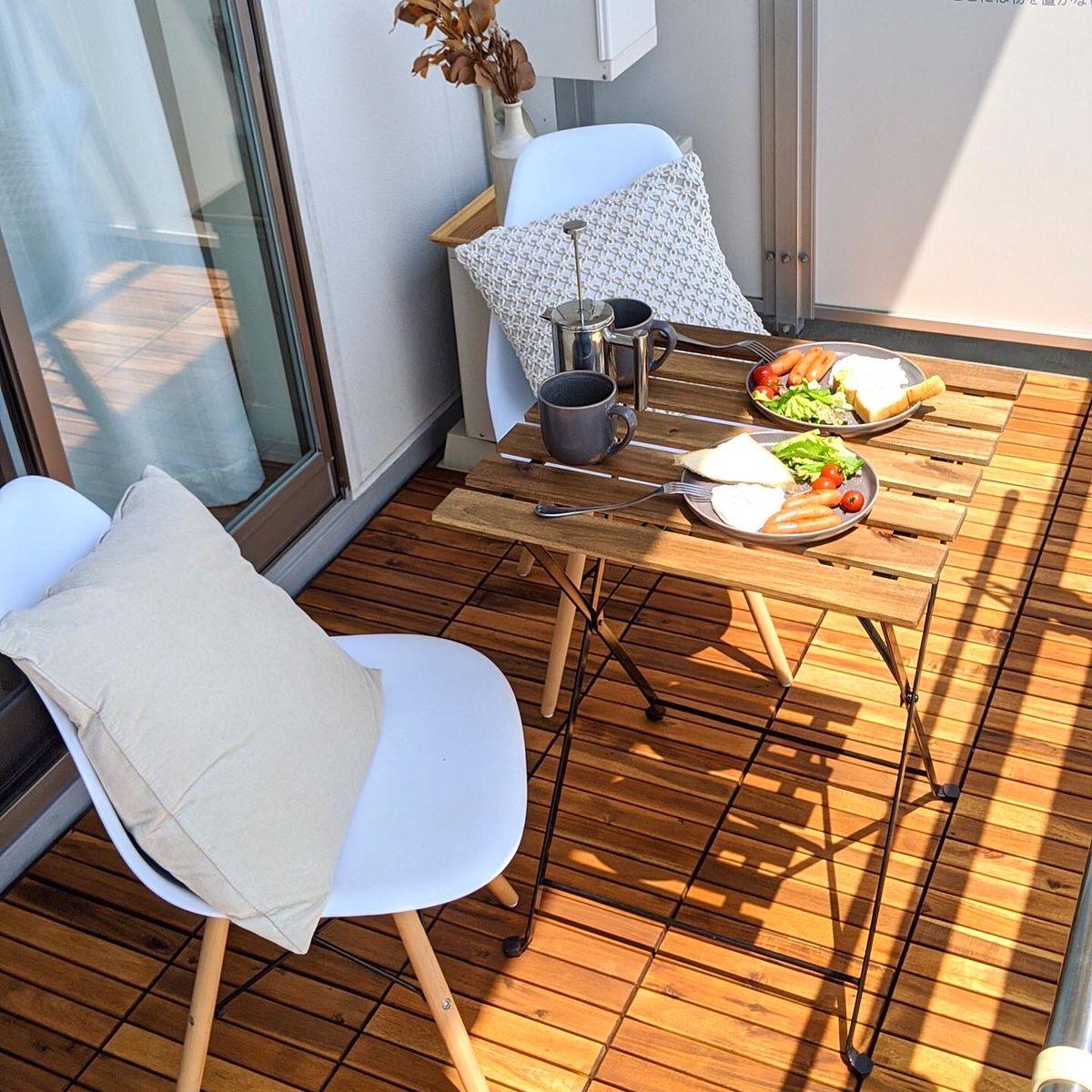 Balcony make over with IKEA Runnen