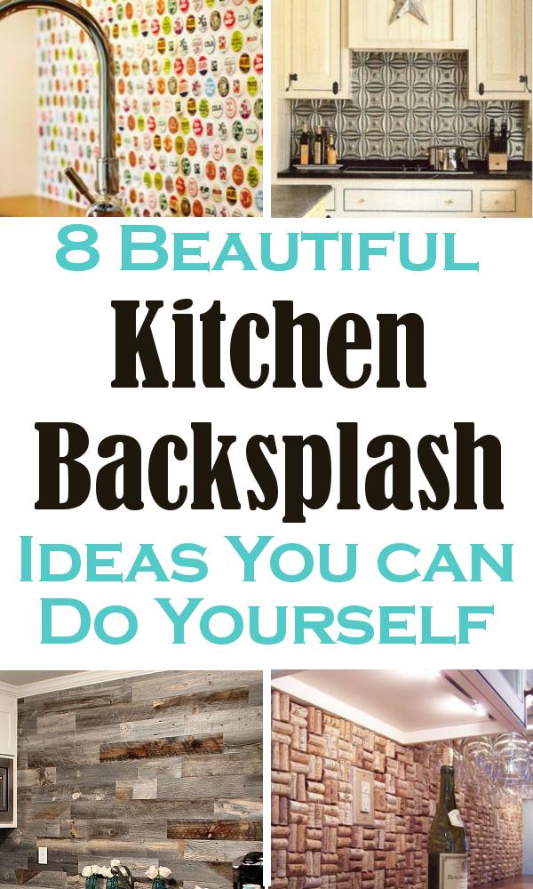 Beautiful Kitchen Backsplash Ideas You Can Do Yourself | Decoración