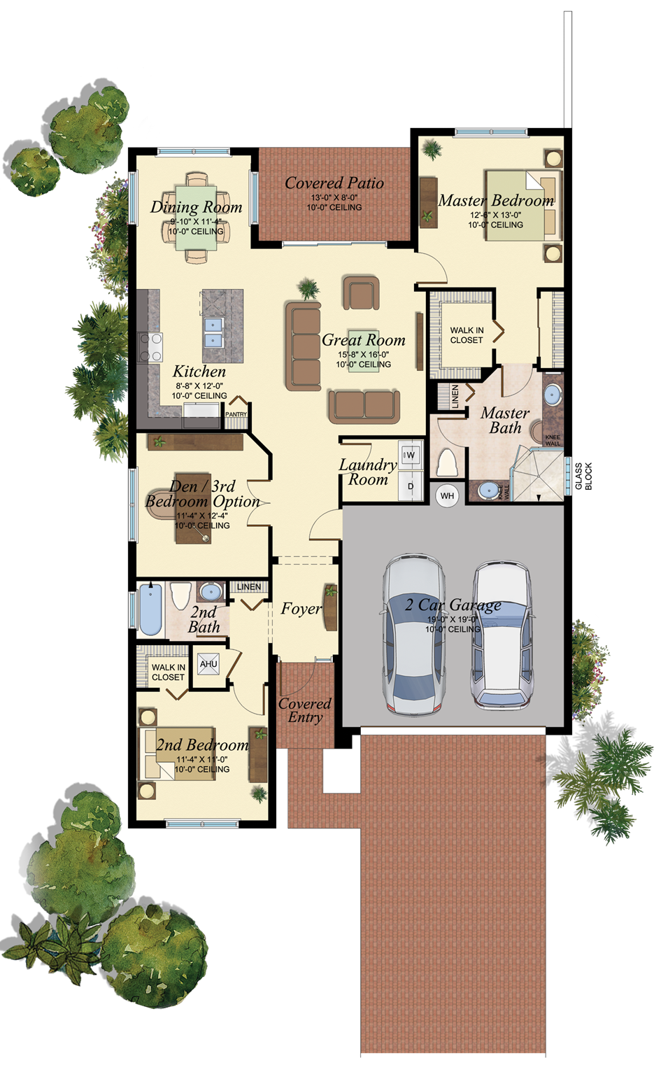 Sorrento Plan Tuscany In Delray Beach Florida Building Plans House Floor Plans Dream House Plans