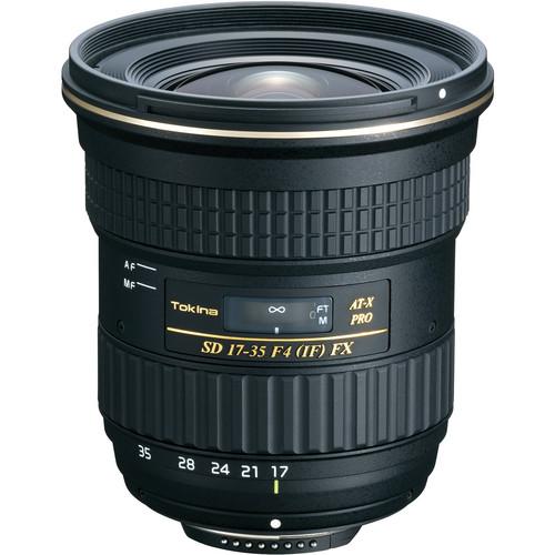 Tokina 17 35mm F 4 Pro Fx Lens For Nikon Cameras Nikon Dx Canon Eos Cameras Dslr Camera