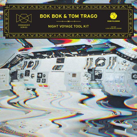 Bok Bok & Tom Trago – Night Voyage Tool Kit / design by ill studio